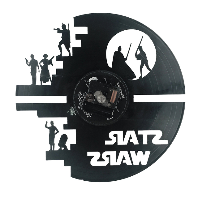 Star Wars 3D Theme Creative Wall Clock Home Decoration
