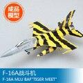 Трубач модель масштабная модель 37127 1/72 F-16A MLU BAF тигр