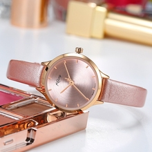 Ketiny Relogio Feminino 2018 Women Watch Luxury Top Brand Dress Watch Women Clock Genuine Leather Pink Fashion Watch Ladies