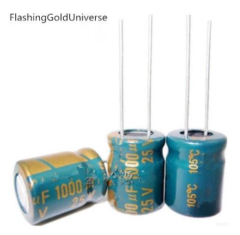 25 V 1000 мкФ 1000 мкФ 25 V 1000uf25v 25v1000uf электролитические конденсаторы Размеры: 10*13 мм|electrolytic capacitors|1000uf 25v25v 1000uf | АлиЭкспресс