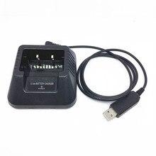 Baofeng UV-5R walkie-talkie cavo di ricarica USB