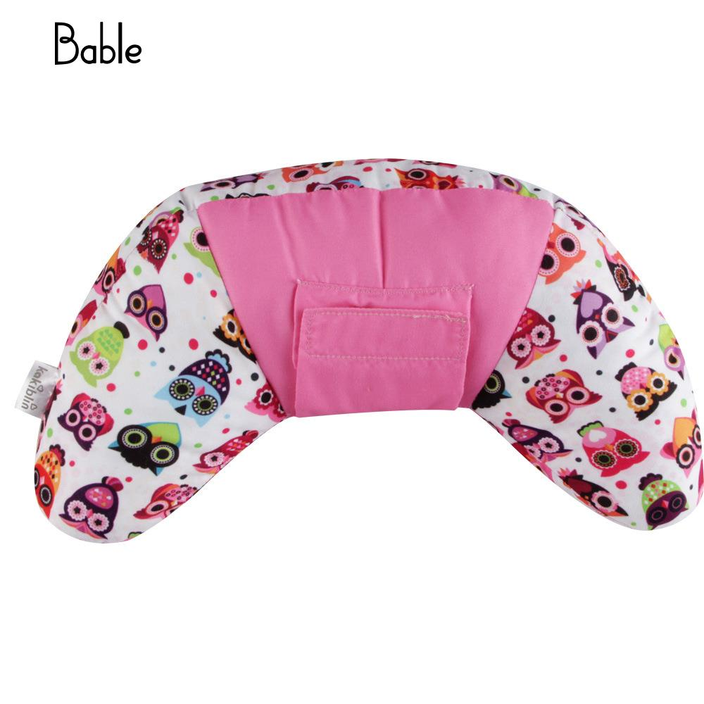 Infant Car Pillow Shoulder Pads ChildS Car Pillow 3 Colors Protection Kids Car Pillow Cute Seat Belt