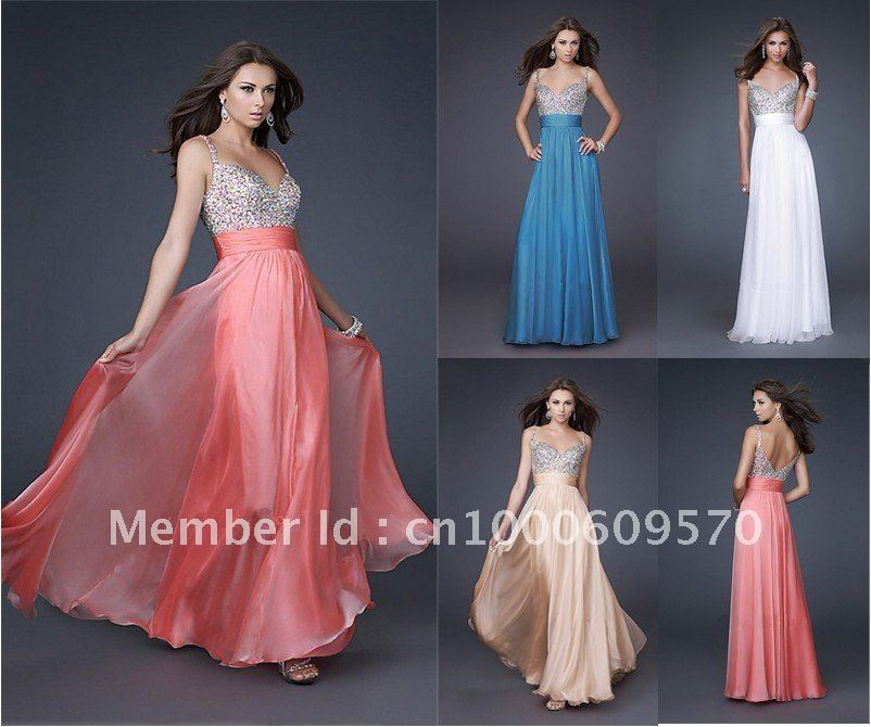 Images of Long Party Dresses - Reikian