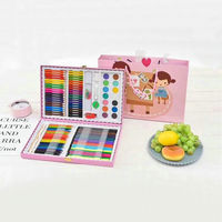 Draw Watercolor Sheath Of A Pen Dress Learning Supplies Watercolor Pen Crayon Oil Painting Good Painting Tool Gift Box Suit