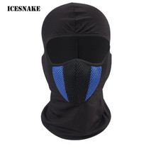 ICESNAKE Motorcycle Face Mask BalaclavaCycling Cap Mask Tactical Face Shield Airsoft Paintball Helmet Cap Hat Ski Training Mask