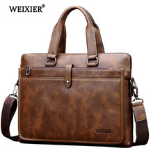 WEIXIER 2019 Hot PU Casual Classic Design Multi-Function High Quality Simple Handbag Business People Travel Solid Color