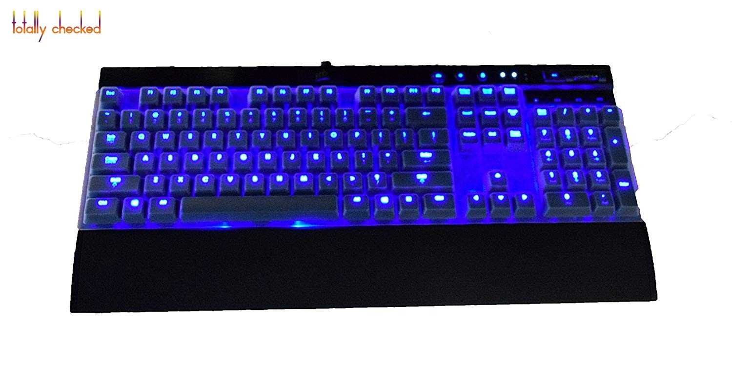 6d1dc1a429b ... Silicone Keyboard Cover Skin Protector for Corsair K70 RAPIDFIRE RGB RAPIDFIRE  K70 LUX/LUX RGB ...