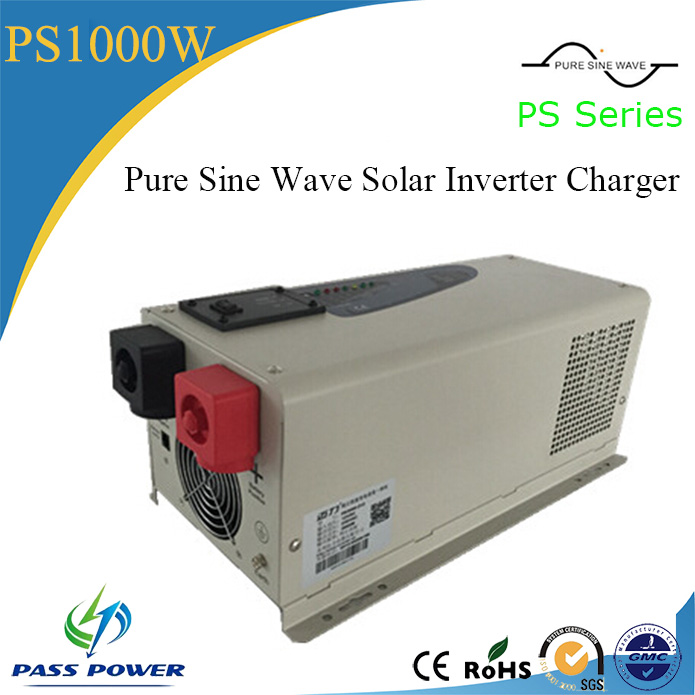 PS Series Pure Sine Wave Solar Inverter Charger <font><b>1000W</b></font>/1KW <font><b>12</b></font>/24Vdc 110/210/<font><b>220</b></font>/230Vac image