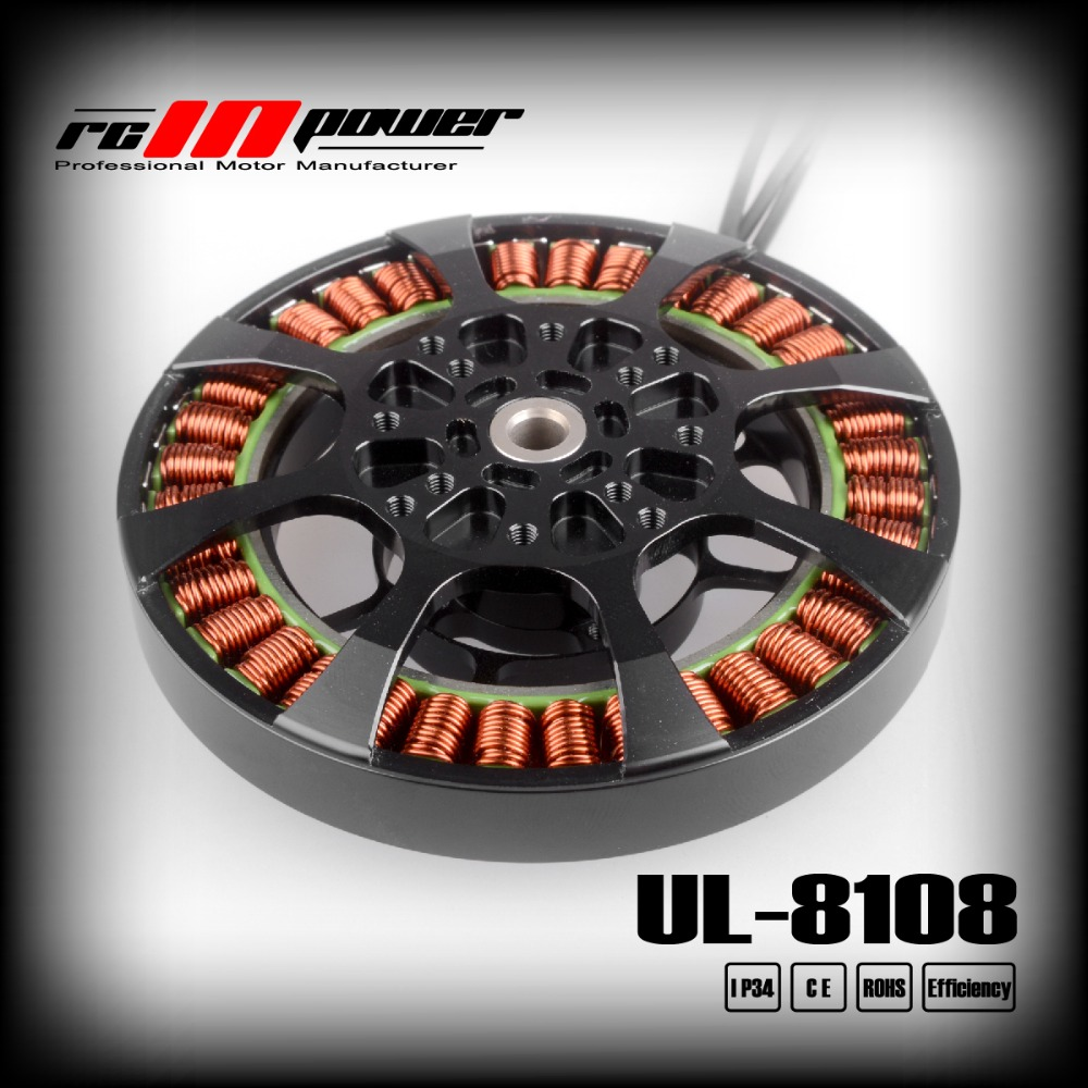 RCINPOWER UL-8108 <font><b>170KV</b></font> Brushless <font><b>Motor</b></font> for Agricultural plant protection drone image