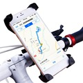 Adjustable Bicycle Bike Smart Phone Mount Holder Anti-Slip Handlebar Stand Bracket For Iphone For Samsung Cellphone Universal