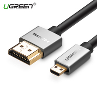 Ugreen Micro HDMI To HDMI Cable Type D Male To Type A Male 2m 3m Converter