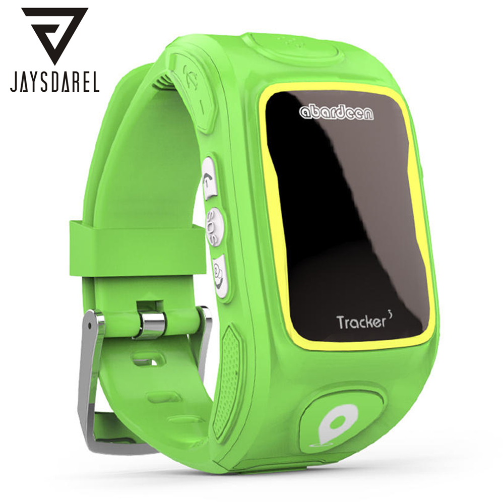 JAYSDAREL KT01W Baby Kids Children GPS Tracker SOS Call Safe Keeper Smart Watch Child Anti-lost Wristwatch Support Nano SIM Card lestopon smart watch kids baby watch monitor smartwatch gps wifi sos locator trackey anti lost safe support sim card for phone