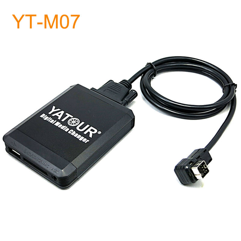 Yatour Car MP3 USB SD CD Changer for iPod AUX with Optional Bluetooth for Suzuki Swift Jimny SX4 Grand Vitara yatour car mp3 usb sd cd changer for ipod aux with optional bluetooth for toyota carina celica coaster highlander land cruiser