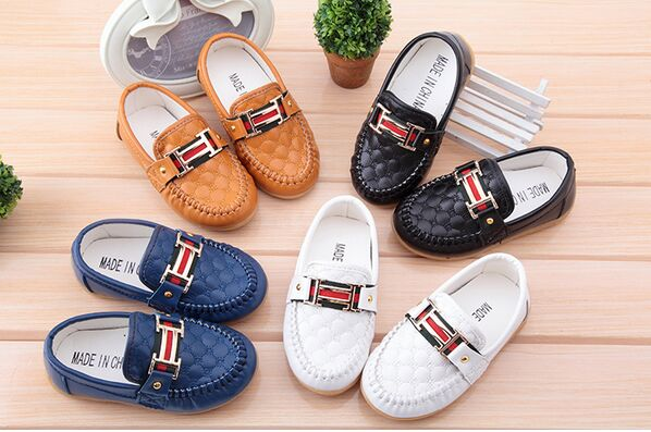 New Boy Girl Children's Slip-on Loafers Oxford Flat Shoes Kids Fashion Sneaker Baby Mocassins Running Shoes