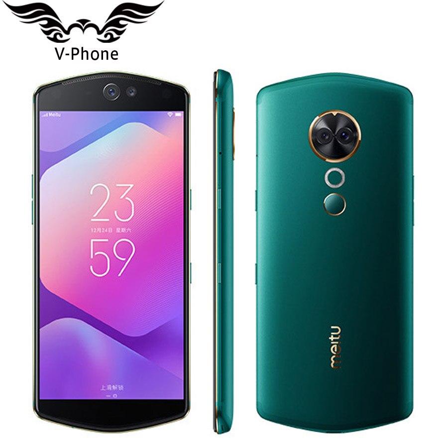 Original Meitu T9 Sefie Beauty Mobile Phone 4G LTE 4GB 6GB RAOM 64GB 128GB ROM 6.01