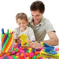 112 pcs Mini-Fusée Balle Conception Construction Ensemble Modèle de Construction Jouet En Plastique Blocs Éducatifs Jouets Pour Enfants Cadeau