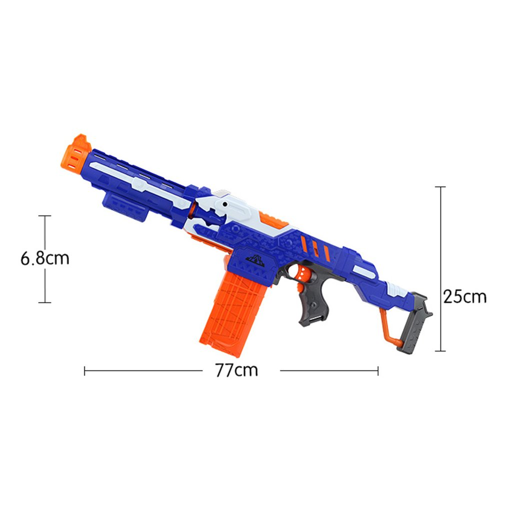 Armas de Brinquedo o miúdo com caixa Tipo Pacote Include : 1 x Toy Gun Body, 1 x Cartridge Holder, 20 x Bullets, 1 x Target