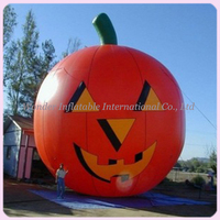 Outdoor (6M)20ft giant halloween decoration inflatable pumpkin for halloween promotional