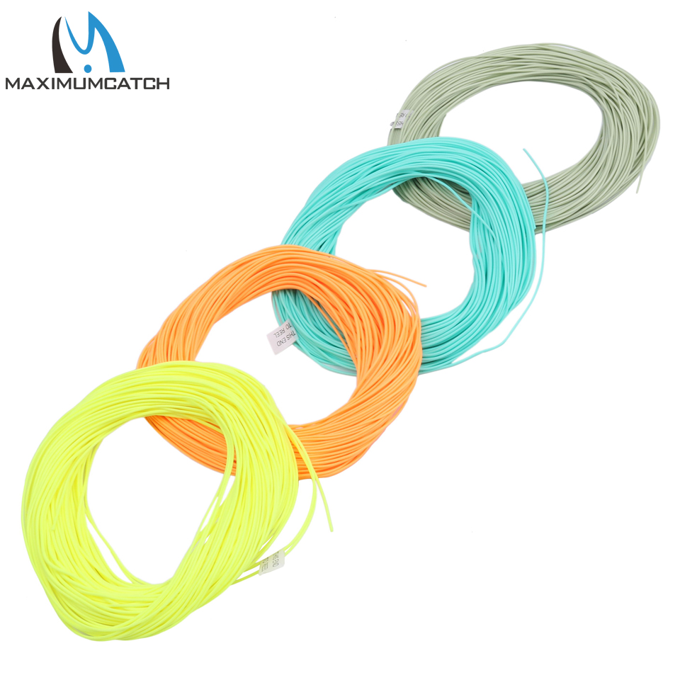 Buy maximumcatch 100ft fly fishing line for Where to buy fishing line