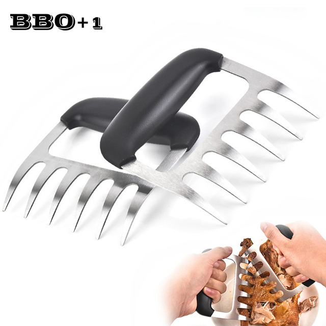 Stainless steel bear claws paws BBQ forks