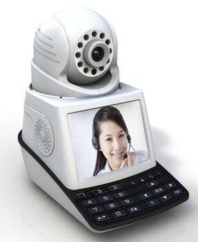 New wireless network phone camera IP camera video phone camera alarm function