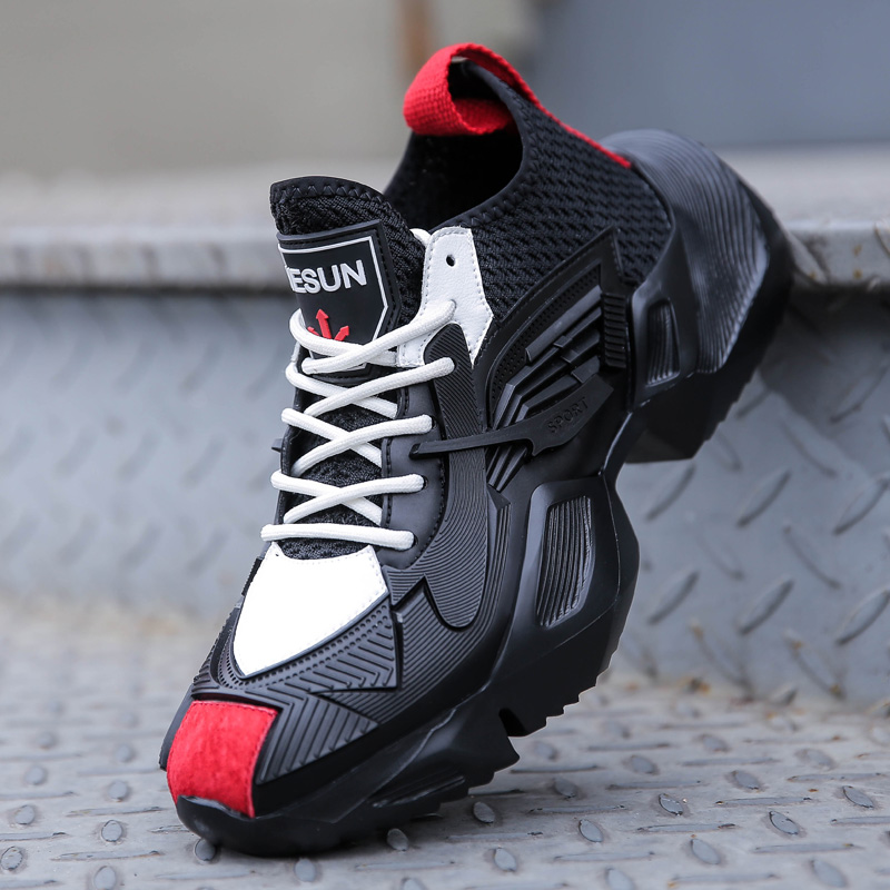 Misalwa Spring Summer Breathable Men Sneakers Casual Shoes New 2019 Comfortable Male Daily Footwear Elevator Shoes