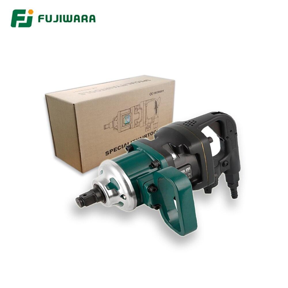 Fujiwara 3/4 e 1 Polegada ar pneumático chave 1800n. m grande torque ferramenta pneumática