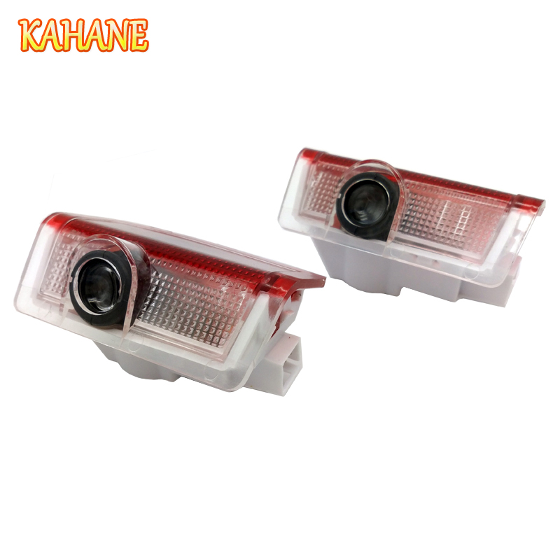 KAHANE 2x LED Car Door Light Projector Courtesy Laser Light Ghost Shadow Light FOR Mercedes Benz W176 W246 C63 W210 W211 W164 car seat cover automobiles accessories for benz mercedes c180 c200 gl x164 ml w164 ml320 w163 w110 w114 w115 w124 t124