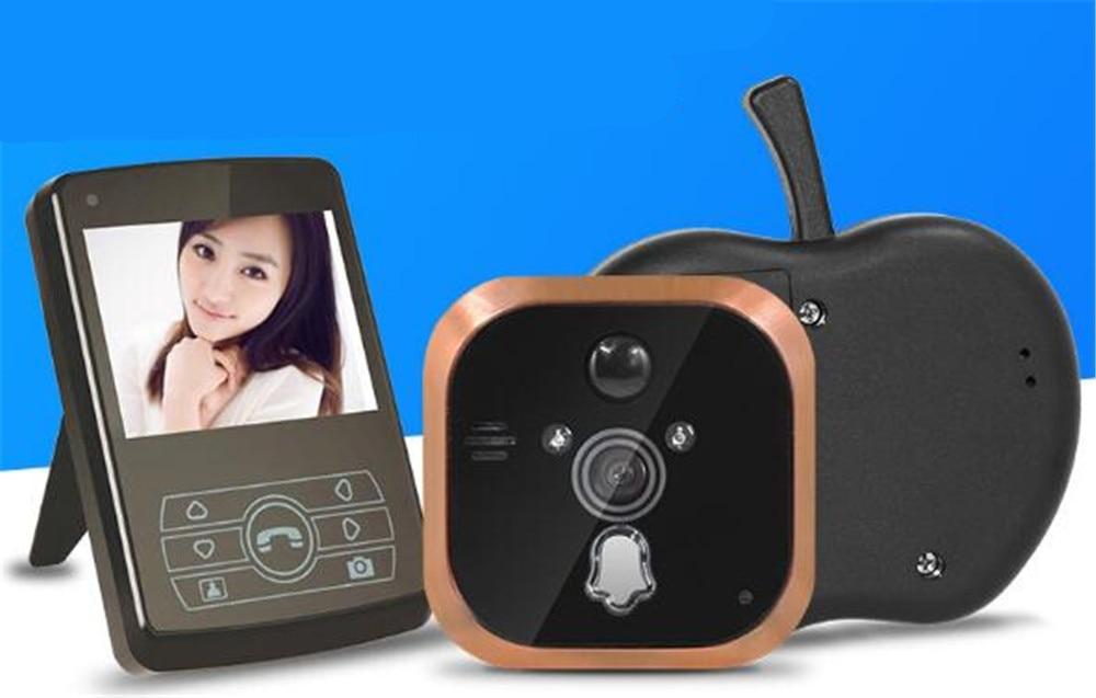 3.5 Inch Wireless Long Distance Video Doorbell Peephole Viewer
