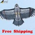 Frete grátis de alta qualidade 1.5 m águia pipa com alça e linha de controle fácil voar 100% Original de 30 m de fábrica
