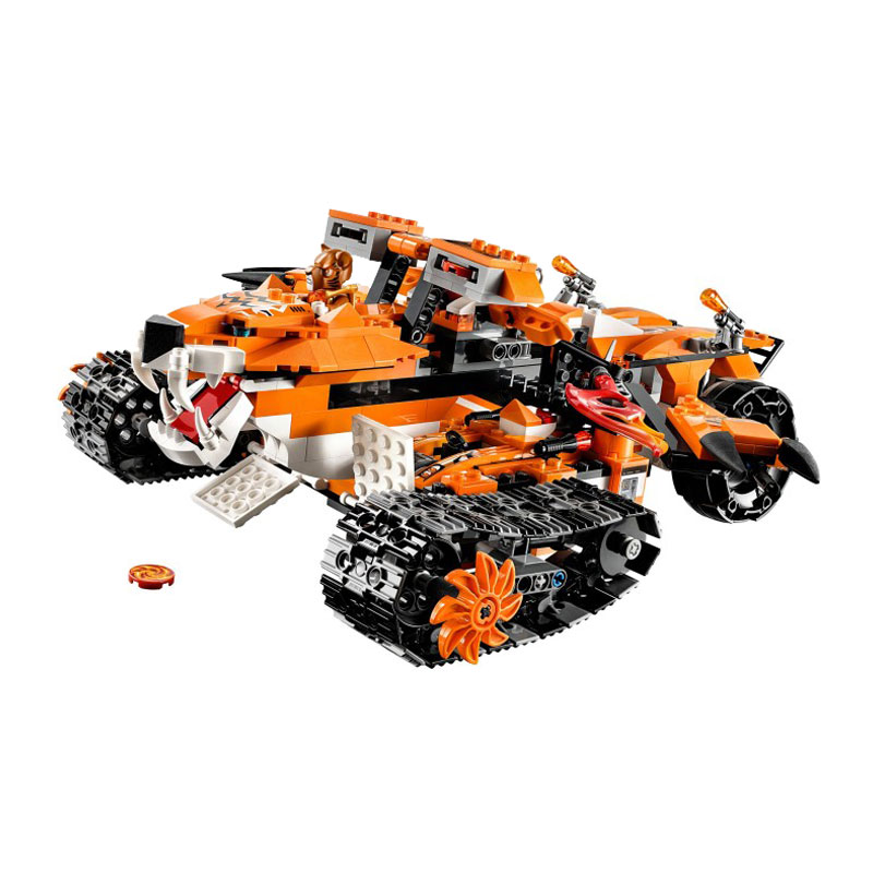 ФОТО Free shipping BELA 10357 Tiger's Mobile Command amazing fascinating Model Building Blocks Toys Gifts For Boys
