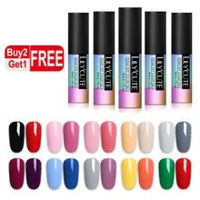 LILYCUTE 3Pcs Black White Red Pure  UV Nail Gel Soak Off UV Led Gel Varnish Semi Permanent Gel Polish Set Manicure Lacquer