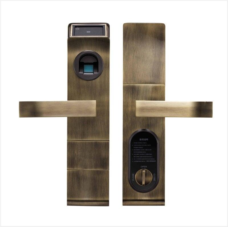 smart door lock fingerprint digital keypad touch screen password keyless acce. Black Bedroom Furniture Sets. Home Design Ideas