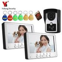 Yobang Security 700TVL Remote Control Video Door Phone Visual Bell Intercom Monitor Doorphone Kit System With
