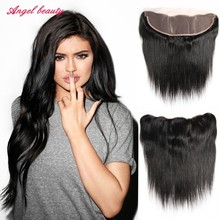 Unprocessed 13×4 lace frontal closure Brazilian Ear to Ear Lace Frontal Closure Brazilian Lace Frontal Closure With Baby Hair
