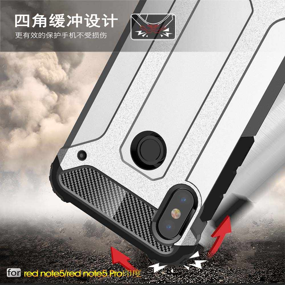 Darbeye dayanıklı zırh Coque kapak 5.99For Xiaomi Redmi not 5 kılıf Xiaomi Redmi için not 5 Note5 Pro telefon geri Coque kapak kılıf