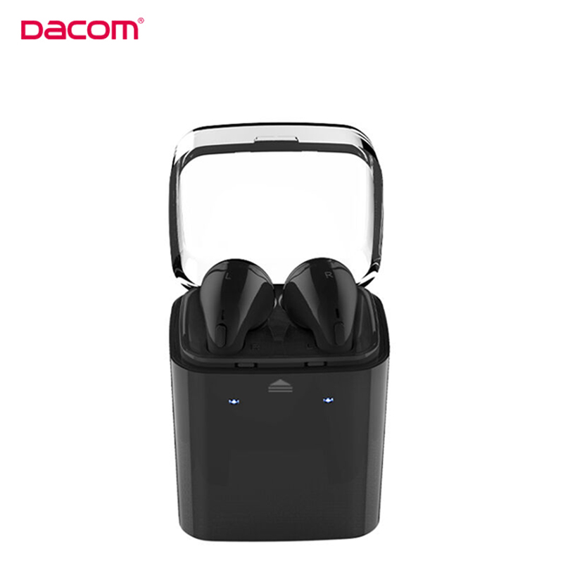 D'origine Dacom 7 s Sans Fil Bluetooth Casque Vrai Sans Fil Sport Jumeaux écouteur pour iPhone 7 7 S 6 6 S 5S 5C téléphone portable casque