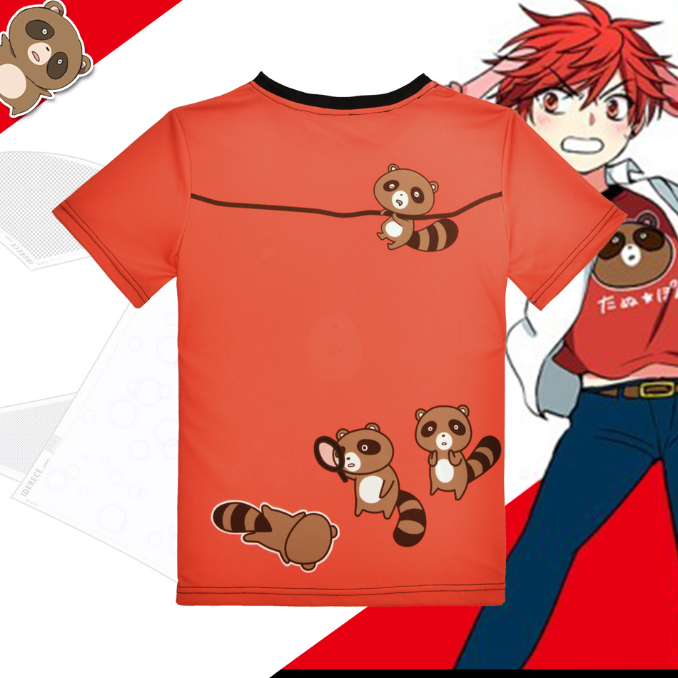 """Anime Mėnesio mergaičių """"Nozaki-kun"""" marškinėliai Kawaii - Vyriški drabužiai - Nuotrauka 2"""