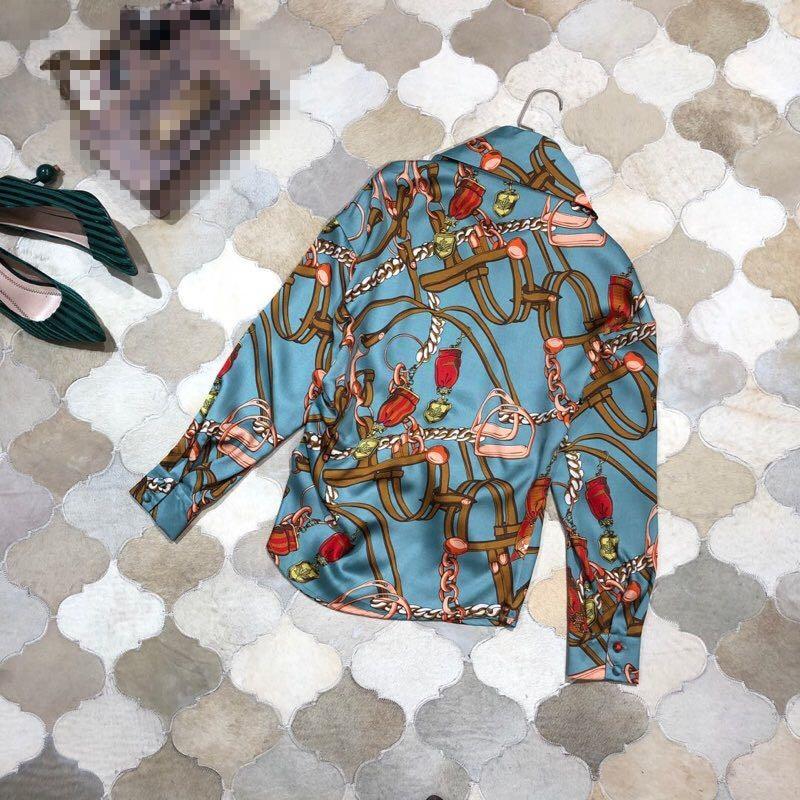 Mode Européenne Piste Marque Vêtements De Femmes 2019 Design Partie Style  amp  D11670 Blouses Chemises Luxe zqWwz1XxUr da4b1eeb360