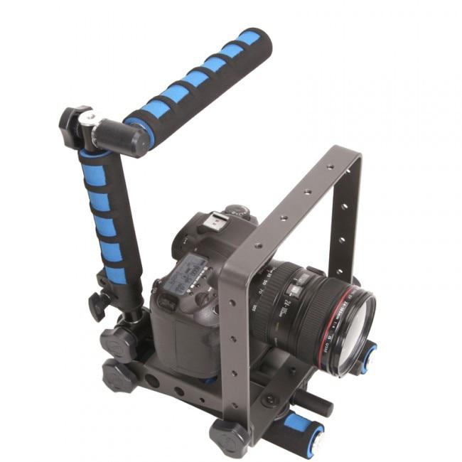F&V Spider Steady photo Camera Stabilizer II DSLR Rig,Shoulder Rest Movie Kit Support for Canon 5D II 60D 6D 70D dslr dv rig movie kit shoulder mount steady support stabilizer for canon 5d mkii 5d3 6d 7d 60d 600d 700d 80d 760d camera