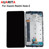 5pcs Lot LCD For Xiaomi Redmi Note 4 LCD Display And Touch Screen Digitizer With Frame