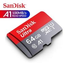 SanDisk карта памяти Ultra micro SD карта 16 ГБ 32 ГБ 64 Гб 128 ГБ 256 Гб 400 Гб microSDHC/MicroSDXC U1 C10 A1 UHS-I TF карта с адаптером