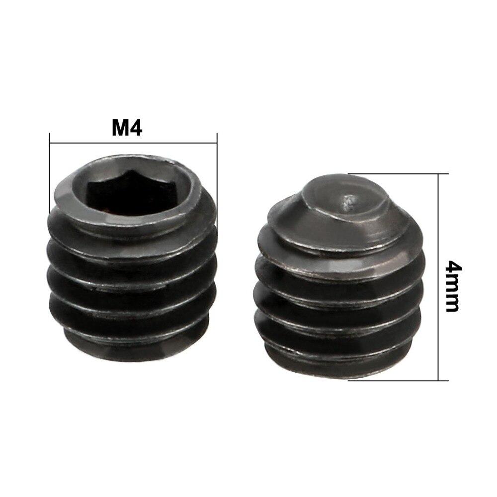 Купить с кэшбэком Uxcell 1set Metal Hex Key Wrench Hex Socket Grub Screw M2 x 2mm M4 x 4mm M3 x 3mm Machine Repair Tool for RC Model Car