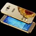 Для Samsung A5 Случае Зеркало Кадр Зеркало Акриловые Обложка Чехол Для SAMSUNG GALAXY A5 A5000/A7 A7000/A8 A8000 зеркало Бампер