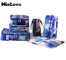 1/6/8/10 Pcs Durable Unisex Travel Packing Cubes Set Organizer Luggage Bags Large Capacity Hand Clothing Sorting Organize