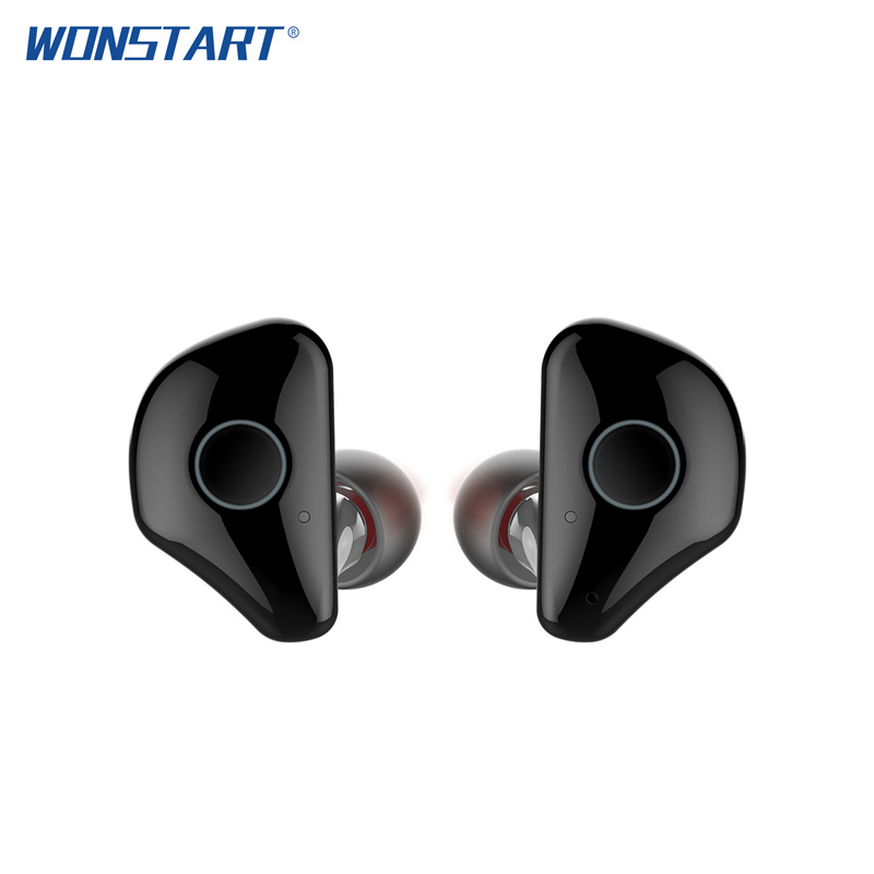 Wonstart TWS Mini Wireless Earbuds W6 True Wireless Bluetooth Earphones Stereo Noise Cancelling Earpieces with Mic Charging Case tws 16 tws bluetooth earphones true wireless earbuds mini stereo music with mic