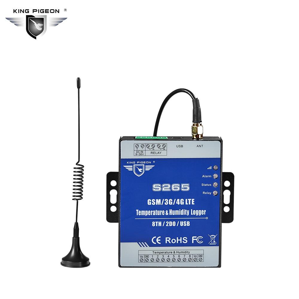 Registrador de datos de temperatura GPRS Humedad Controlador remoto - Seguridad y protección