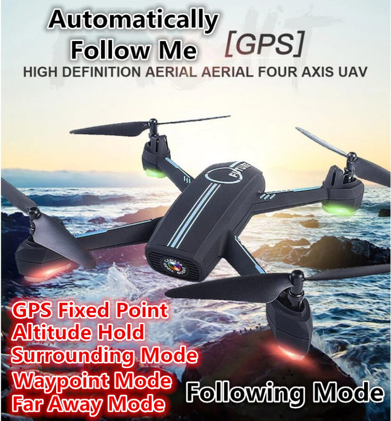 APP Control FPV GPS Follow Me Aerial Remote Control drone 2.4G With Set High/Surrounding/Auto Follow Me RC Helicopter vs X28W follow me down