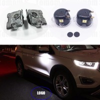 2x LED For Ford Kuga Focus Taurus Mondeo Edge Explorer Led Side Mirror Puddle Logo Light