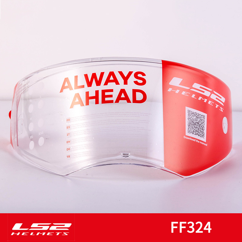 LS2 METRO helmet visor suitable for LS2 FF324 model clear lens without pinlock holes not suitable METRO EVOLS2 METRO helmet visor suitable for LS2 FF324 model clear lens without pinlock holes not suitable METRO EVO
